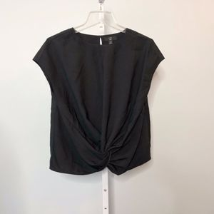 NWT J Crew 365 Drapey Knotted Blouse